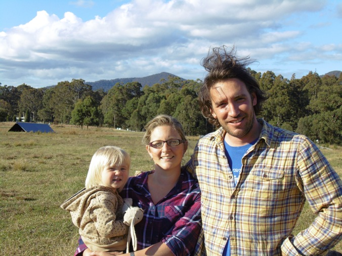 Kelly & Simon's Little Hill Farm in Mount Vincent, NSW