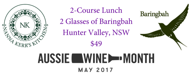 2-Course Lunch2 Glasses of BaringbahHunter Valley, NSW$49
